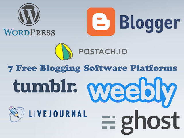 List of best blogging platforms to start free blog