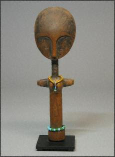 The Asante Akua'ba Doll