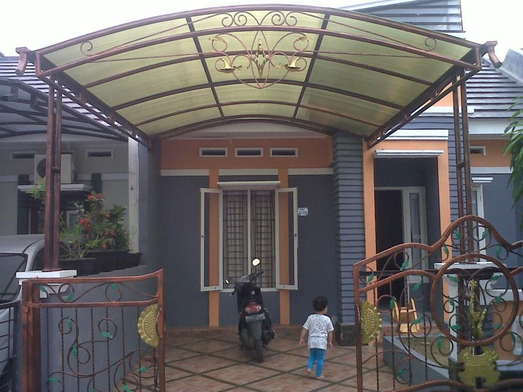 Kumpulan desain kanopi dan pagar rumah minimalis dari besi