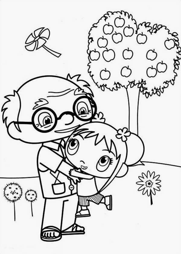 Desenhos para Colorir e Imprimir: Desenhos Ni Hau Kai Lan para ...