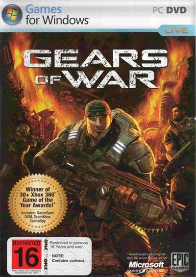 GOW Gears Of Wars PC Full Español Latino Vitality Descargar