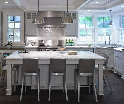 Awesome kitchen island design ideas for Awesome kitchen design ideas