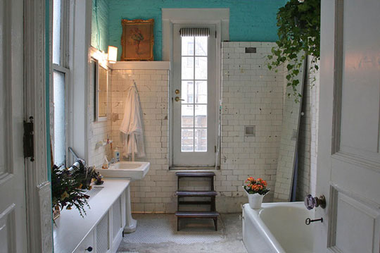 Creating a Bohemian bath. Kitchen and Residential Design  Creating a Bohemian bath