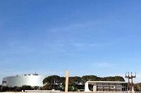 Céu de Brasília terá sol com poucas nuvens durante o dia