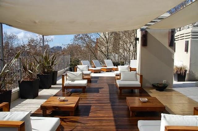 Terrazas modernas modern rooftop for Terrazas modernas exterior