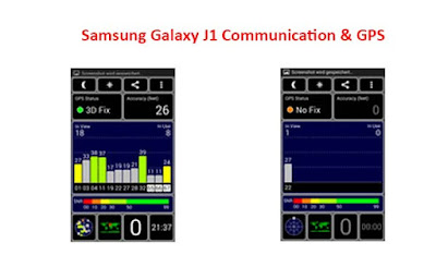 Samsung Galaxy J1 Communication & GPS