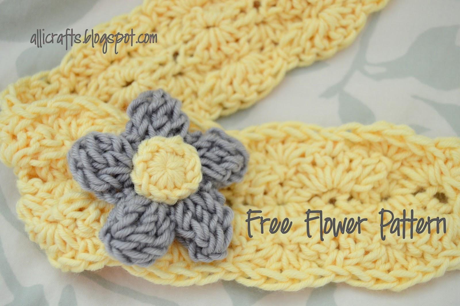 Alli Crafts: Free Pattern: Triple Crochet Bubble Flower