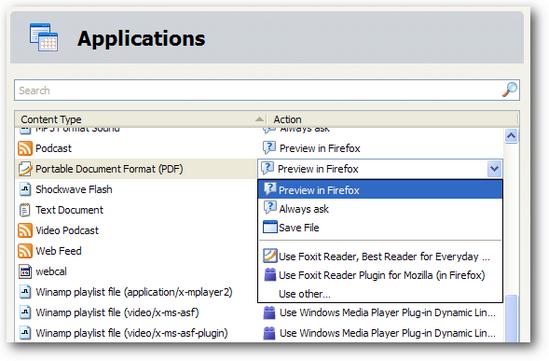 cara menggunakan firefox untuk membuka file pdf