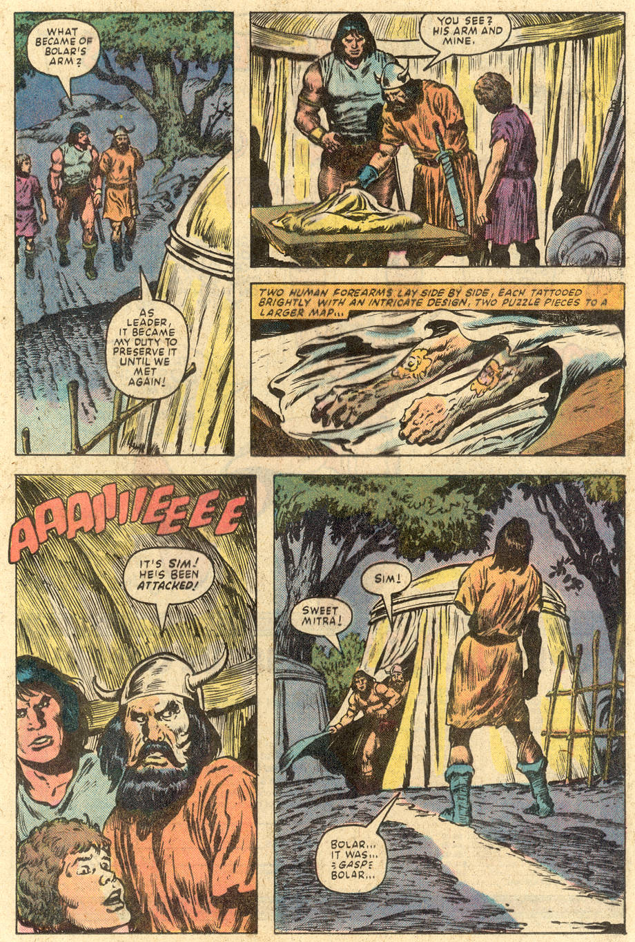 Conan the Barbarian (1970) Issue #149 #161 - English 16