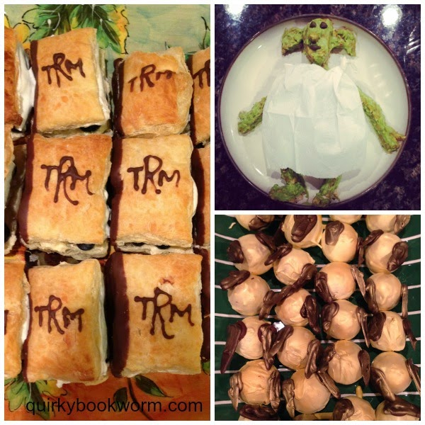 Fantastic Food Ideas for a Harry Potter Party: Chamber of Secrets