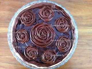 torta+suspiro2 A Rainha dos chocolates em Salvador fez aniversário e quem fez os Bolos para o seu chá da tarde ?