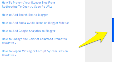 Colorful Scroll Bar In Blogger Blog