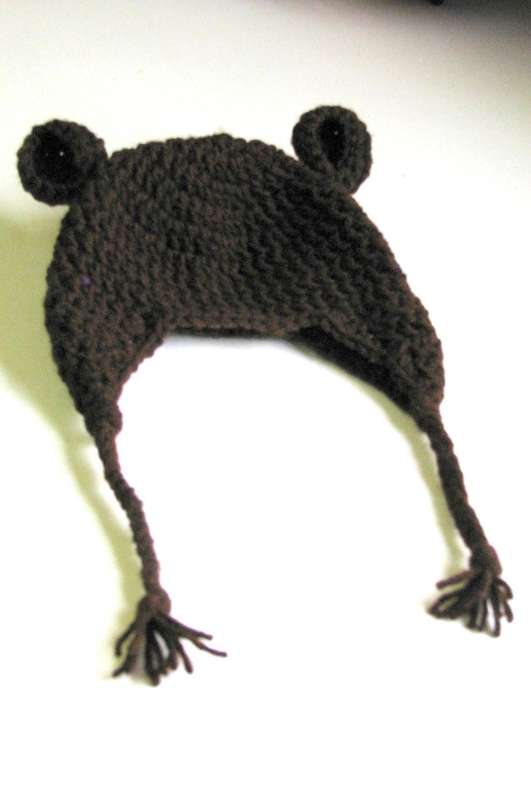 Knick-Knacks & Doo-Dads: FREE Crochet Bear Hat Pattern