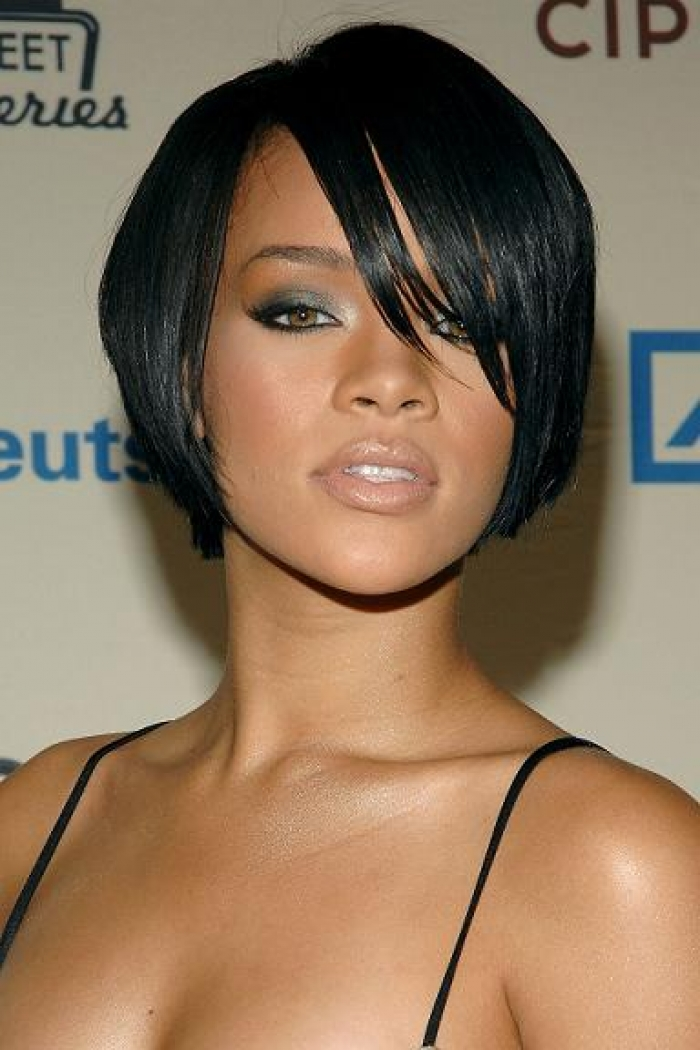 black hair styles thin hair