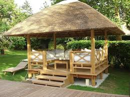 Bisnis pengawetan bambu - Gazebo