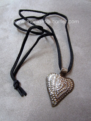 Heart of Haiti pendant