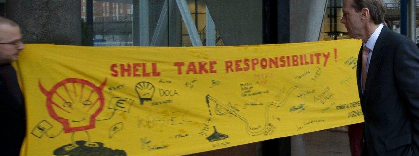 Shell take responsibility