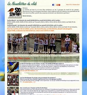 Newsletter Club Marche Nordique 78