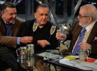 Jô Soares manda Galvão Bueno calar a boca em programa