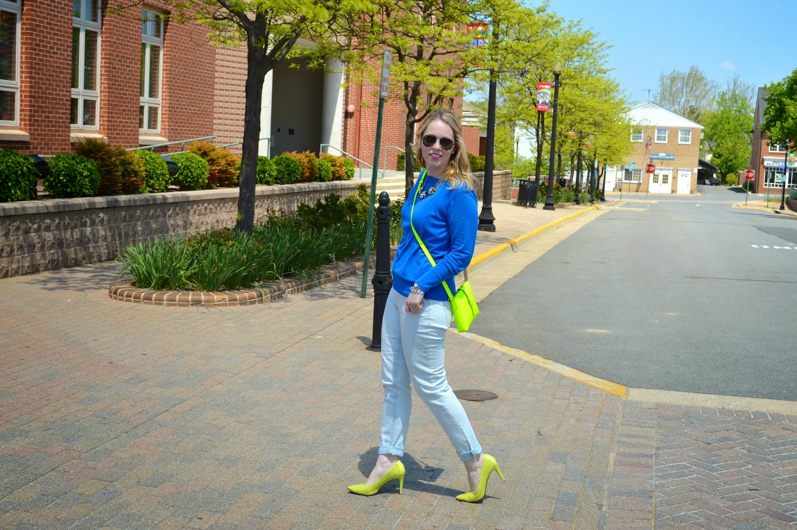 spring-time-blue-green-look