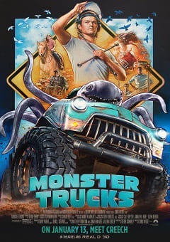 Torrent Filme Monster Trucks 2017 Dublado 1080p 720p BDRip Bluray FullHD HD completo