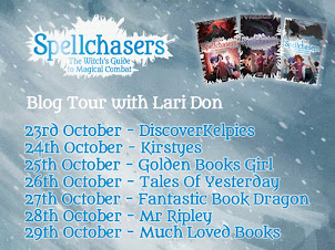 Lari Don Author Spellchasers Blog Tour 2017