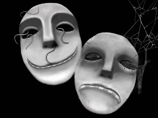 Mask Emotion Dark Gothic Wallpaper