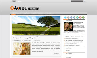 Aoide WordPress Theme