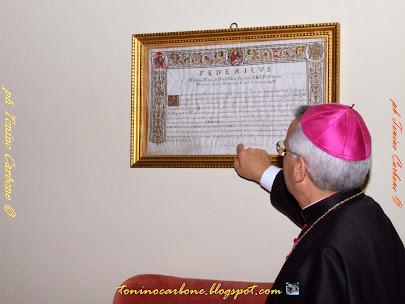 """... Come eravamo...  """"Visita al Palazzo Vescovile - 19 aprile 2009"""" ....le foto"""