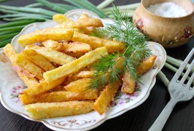 РЕЦЕПТЫ И СОВЕТЫ ХОЗЯЙКАМ: Домашний картофель фри - вкуснее, натуральнее и дешевле, чем в Макдональдсе