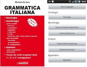 APPLICAZIONE DI GRAMMATICA ITALIANA PER DISPOSITIVI ANDROID