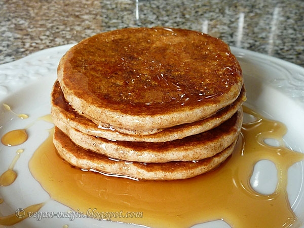 Apple Pancakes « Vegan Recipes « Vegan Magic