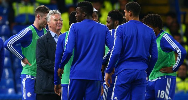 Guus Hiddink begins by setting new goals for Chelsea squad