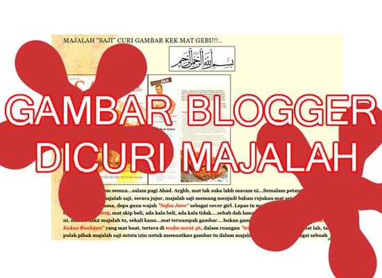 Majalah Curi Gambar Kreatif Blogger