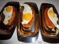 Tapita de patatera y huevo de codorniz