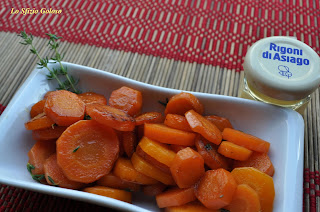 carote glassate al timo