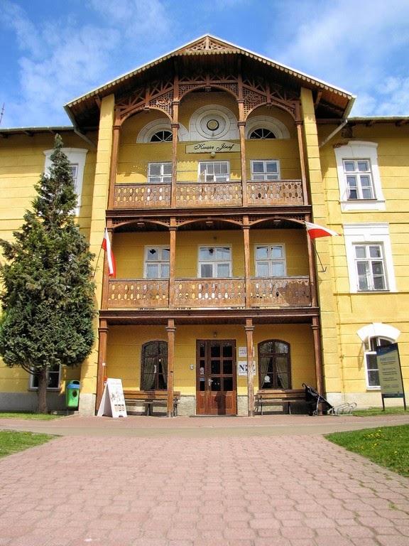 Nałęczów - sanatorium Książę Józef