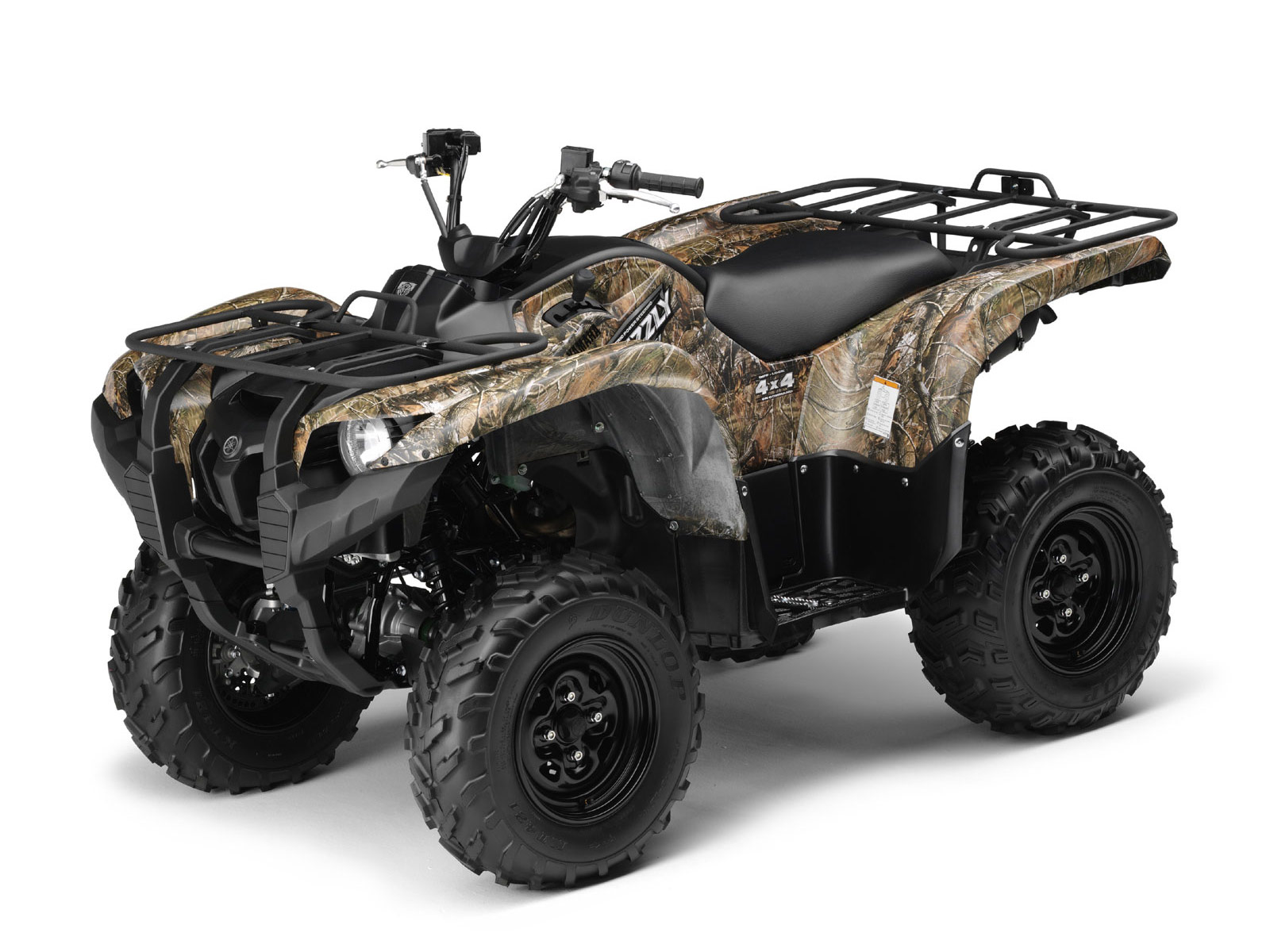 Yamaha Grizzly Camo