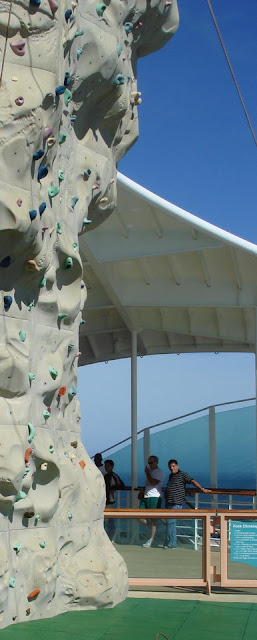 Oasis Of The Seas Climbing Wall