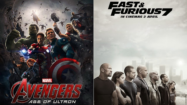 GSC Avengers 2 Fast and Furious 7