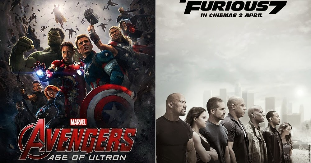 Gsc tickets for 39 avengers 2 39 and 39 fast furious 7 39 on for Tour avengers