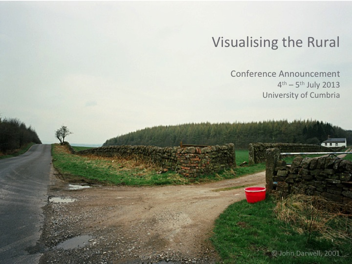 Visualising the Rural