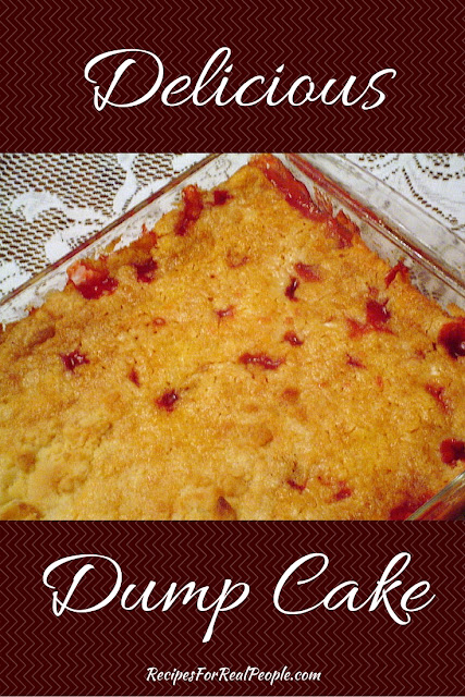 Easy, Delicious Dump Cake Recipe. A favorite at our house!