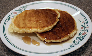 how to make simple pancakes without milk