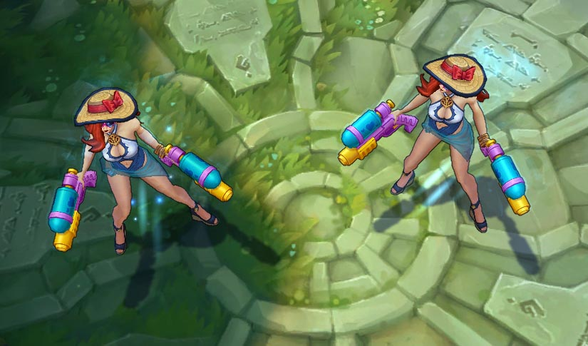 Skin Miss Fortune Pool Party