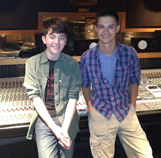 Greyson Chance and Du the Math winner Evan Johnson