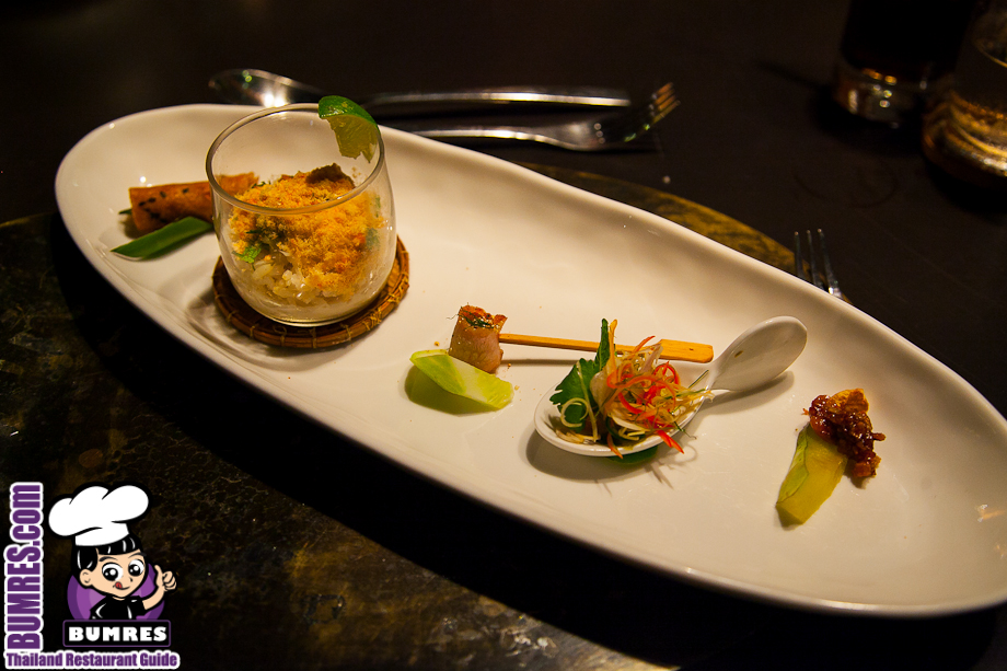 Restaurant review bangkok mostly all around the for Aura world fusion cuisine