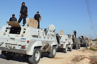 Egypt military in the Sinai