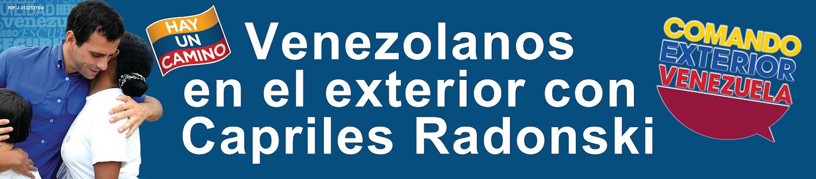 Venezolanos siempre nos inscribimos el 10 de junio for Venezolanos en el exterior