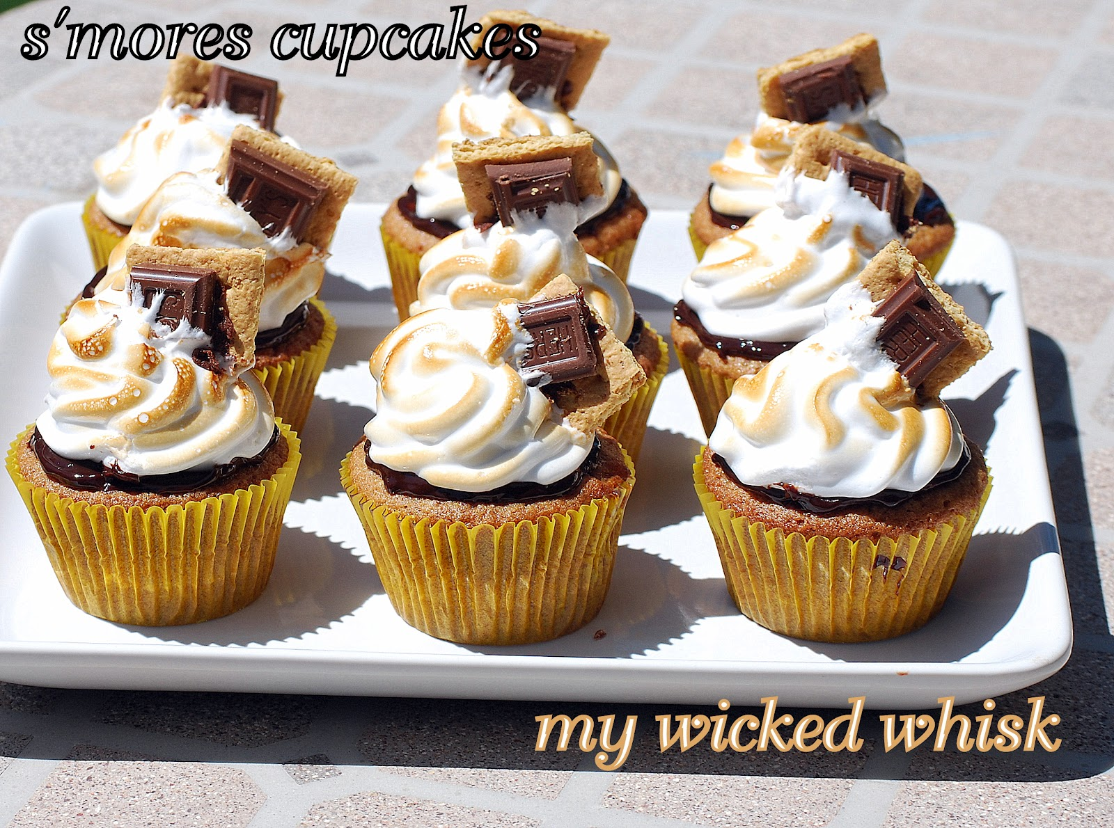 Summer Flavor Cupcakes